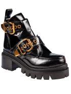 Jeffrey Campbell Drifter Boots - Black