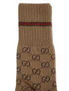 Gucci Medmuf Knit Socks - camel