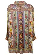 Etro Floral Print Long Shirt - Basic