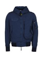 Parajumpers Gobi Used Nylon Bomber Jacket - blue