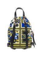 Versus Versace  Rucksack Backpack Travel Lion Head - Multicolor