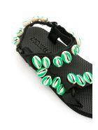 Arizona Love Green Shell Trekky Sandals - SHELL GREEN (White)