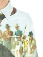 Calvin Klein 'landscape Bull' Shirt - Multicolor