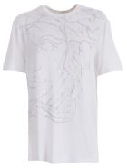 Versace Collection Micro Studs T-shirt - White