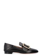 Bally Janelle Leather Loafers - black