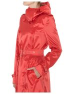 Burberry Kensington Trench Coat - Red