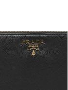 Prada Saffiano Long Wallet - Nero