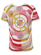 Tory Burch Graphic Printed T-shirt - Pink constellation