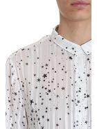 RTA Blythe Star Patterned Shirt - White