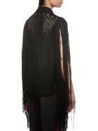 Calvin Klein Knitted Fringed Sweater - Nero
