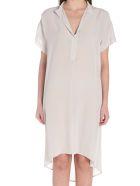 (nude) Dress - White