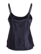 Max Mara 'lory' Silk Tank Top - Blue