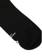 Marcelo Burlon Cross Long Socks - Black/white