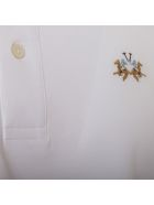 La Martina Cotton Blend Polo - WHITE