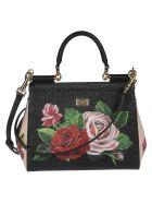 Dolce & Gabbana Sicily Shoulder Bag - Black