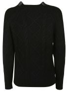Ermanno Scervino Knitted Sweater - black