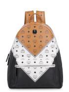 MCM Visetos Fabric Stark Backpack - Multicolor