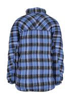 Napa By Martine Rose Napa Martine Rose Checked Jacket - Blue