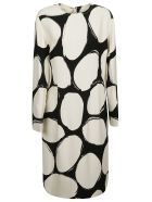 Marni Printed Long Dress - Pew10
