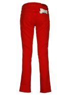 Jacob Cohen Straight Leg Jeans - Red