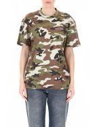 Miu Miu Camouflage T-shirt - MILITARE (Khaki)