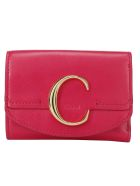Chloé Wallet - Crimson pink