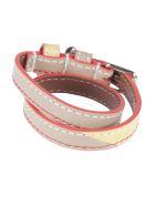 Alexander McQueen Double-wrap Bracelet - Tortora