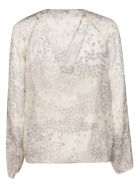 RED Valentino Star Print Blouse - Grey
