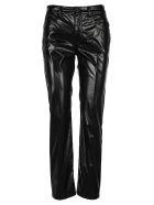 MM6 Maison Margiela Mm6 Vynil Pants - BLACK