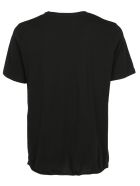 Saint Laurent Palm T-shirt - Noir/argent
