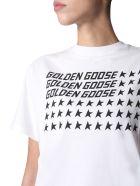 Golden Goose Round Neck T-shirt - Bianco