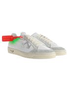 Off-White Off White 2.0 Low-top Sneakers - WHITE + GREEN FLUO