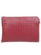 Bottega Veneta Crossbody Briefcase - Bacc rose