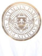 Balmain T-shirt With Logo Medallion - BIANCO