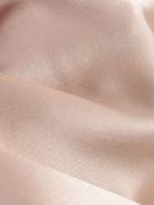 Nanushka Skirt A Line Satin W/knot - Himalayan Salt