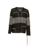 Roberto Cavalli Knitted Sweater - Nero beige