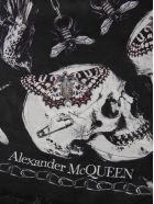 Alexander McQueen Print Scarf - Black