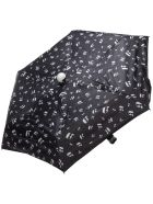 Karl Lagerfeld K/ikonik Umbrella - Nero