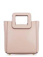 STAUD Mini Shirley Leather Handbag - Pink