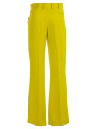 Versace Collection Straight Leg Trousers - Lime
