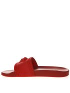 Versace Red Color Palazzo Medusa Sandals - Red