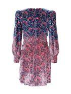 Philosophy di Lorenzo Serafini Floral Dress In Viscose Blend - Multicolor