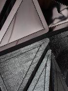Rick Owens Geometric Vest - Black