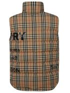 Burberry House-check Gilet - Archive Beige