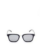 Saint Laurent SL 341 Sunglasses - Black Black Silver