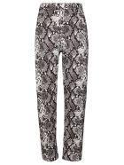 The Attico Grey Cotton Dua Jeans - Grey