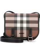 Burberry Canvas Messenger Bag - brown