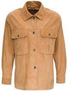 Alberta Ferretti Beige Suede Leather Jacket - Beige