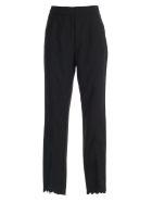 self-portrait Pants Lace Bottom Insert - Black