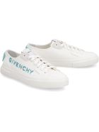 Givenchy Canvas Sneakers - White